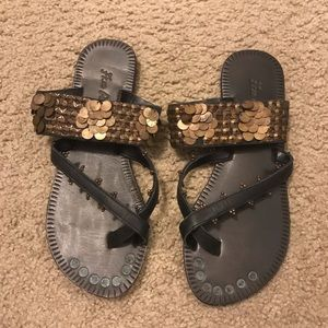 Free people charmer sandals size 36